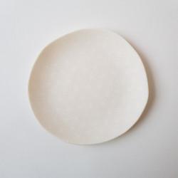 Plate Asanoha, white A