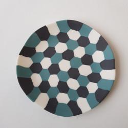 Plate tortoise shell, dark...