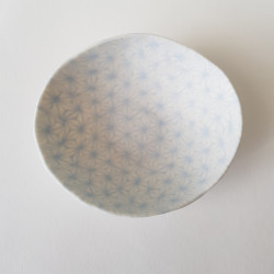 Bowl Asanoha sky blue