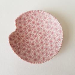 Cupel Asanoha, plum C